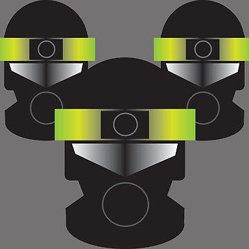 Blake's 7: Federation Troopers by zenorac7