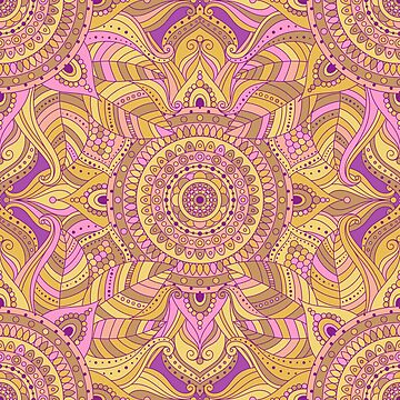 Summer Mandala by marinademidova