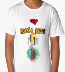 Rock you! Camiseta larga