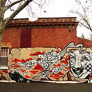 Fitzroy Graffiti by Roz McQuillan