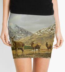 Deer Mini Skirt
