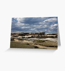 Geological Structure Greeting Card