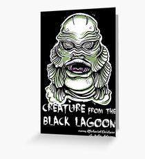 Lagoon Creature Greeting Card