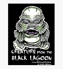 Lagoon Creature Photographic Print