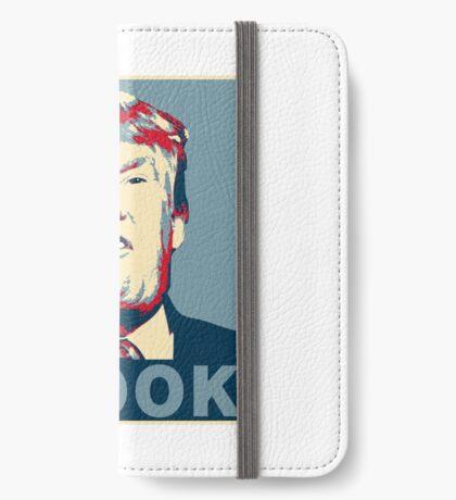 Trump Crook Poster iPhone Wallet