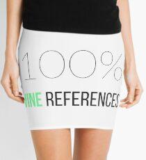 Made of 100% Vine References Mini Skirt