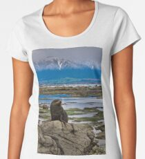 Seal on a Rock Women's Premium T-Shirt
