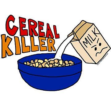Cereal Killer, Funny Breakfast Food Parody by CuteNComfy