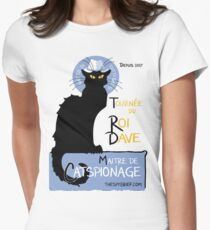 King Dave, Maitre de Catspionage Women's Fitted T-Shirt