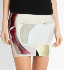 Between the lines Mini Skirt