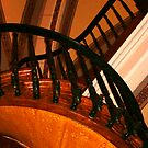 Spiral Staircase by Virginia Maguire