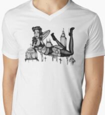 R.I.P Eroticabilly Men's V-Neck T-Shirt