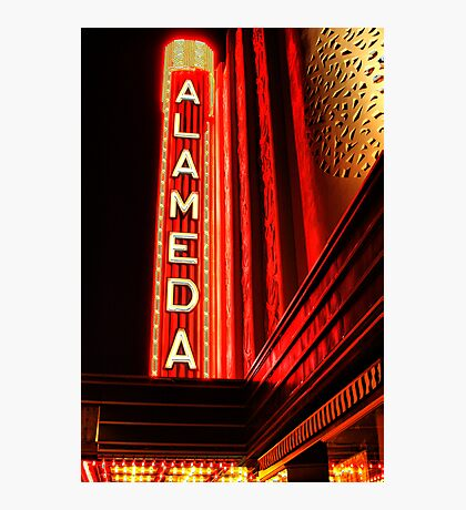 Alameda Theatre Photographic Print