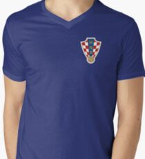 Croatia National Football Team Men's V-Neck T-Shirt