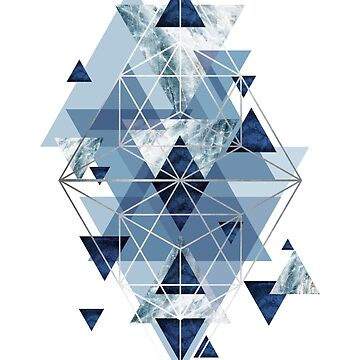 Blue Geometric Perfection by UrbanEpiphany