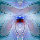 Aqua Butterfly by Gypsy Herndon