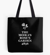 The Moira's Rose's Garden - white type Tote Bag
