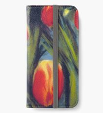 Red Tulips iPhone Wallet/Case/Skin