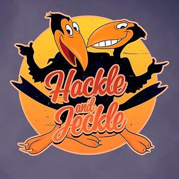 Heckle and Jeckle - TV Cartoons  by GiGi-Gabutto