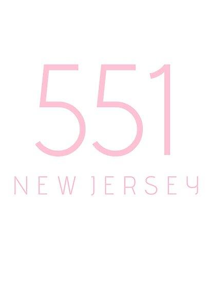NEW JERSEY 551 • ROSE PINK by kassander
