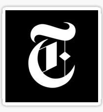 New York Times magazine Masthead Sticker