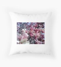 NYC Union Square Blooms Throw Pillow