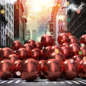 Giant Red Ball Pit NYC by vinpez