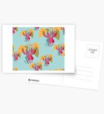 Funky Fuschia Postcards