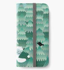 Tree Hugger (Frühlings- und Sommerversion) iPhone Flip-Case/Hülle/Klebefolie