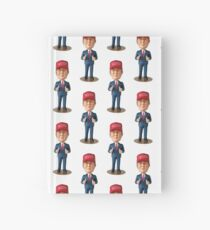Bobble head  Hardcover Journal