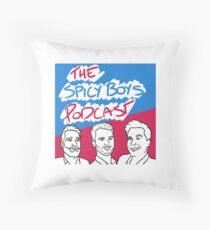 Spicy Boys 2nd Logo Range Throw Pillow