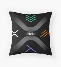 "XRP Community Design Series #10 | ""XRP"" Throw Pillow"