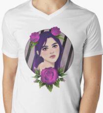 Purple Roses Men's V-Neck T-Shirt
