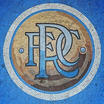 Rangers FC Mural by TigersFanatics