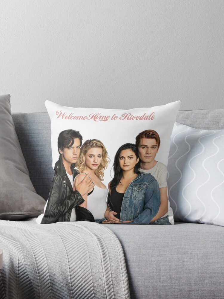 Riverdale Throw Pillows By Brittany Bice Redbubble