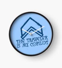 The Traveler Is My Copilot Clock