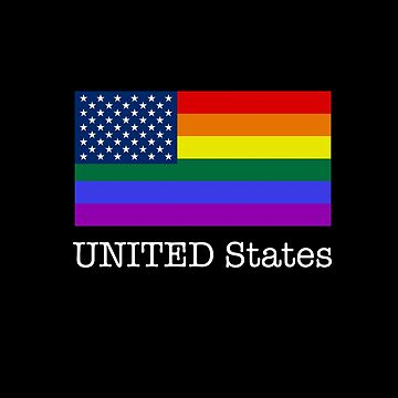 UNITED States Pride American Flag by pabloestamor