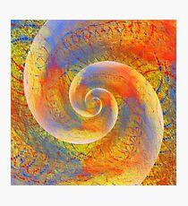 Abstract vortex fractal Photographic Print
