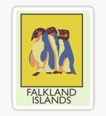 Falkland Islands travel poster Sticker