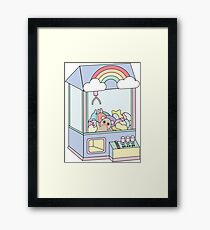 The Claw Machine Framed Print