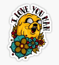 I Love You Man Sticker