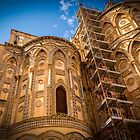 Cathedral of Monreale, Palermo, Italy by Sunil Bhardwaj