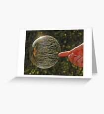 Bubbles don't pop, they RIP! Greeting Card