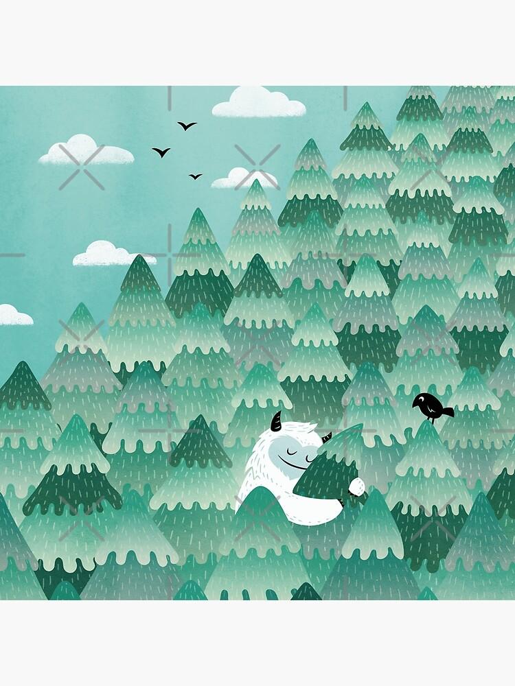 Tree Hugger (Frühlings- und Sommerversion) von littleclyde