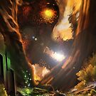 Forest Fire Monster by dazzamataz