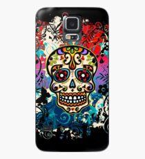 Funda/vinilo para Samsung Galaxy Mexican Sugar Skull, Día de los muertos, Dia de los muertos