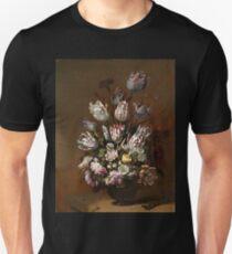 Tulips in a Vase -Hans Bollongier Unisex T-Shirt