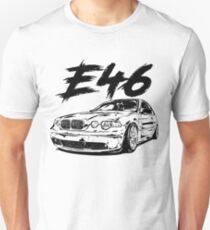 E46 compact & quot; Dirty & quot; Unisex T-Shirt