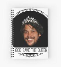 god save queen bob (1) Spiral Notebook