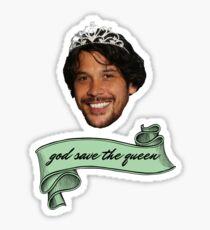 god save queen bob (2)  Sticker